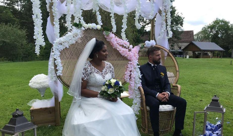 Le mariage de Maxime et Clarisse à Landelles, Eure-et-Loir