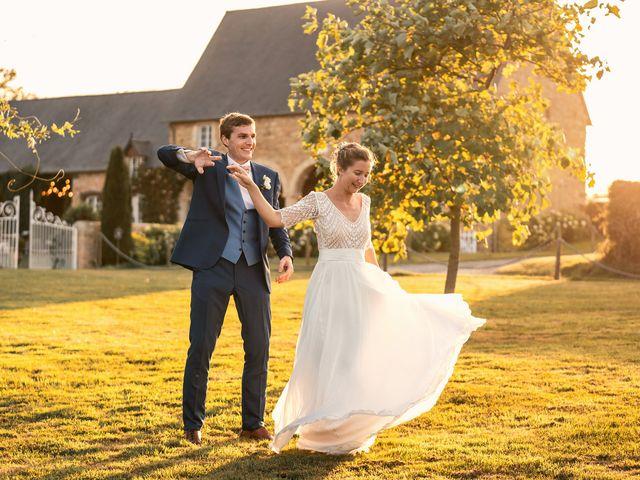 Le mariage de Thomas et Julie à Trévières, Calvados 7
