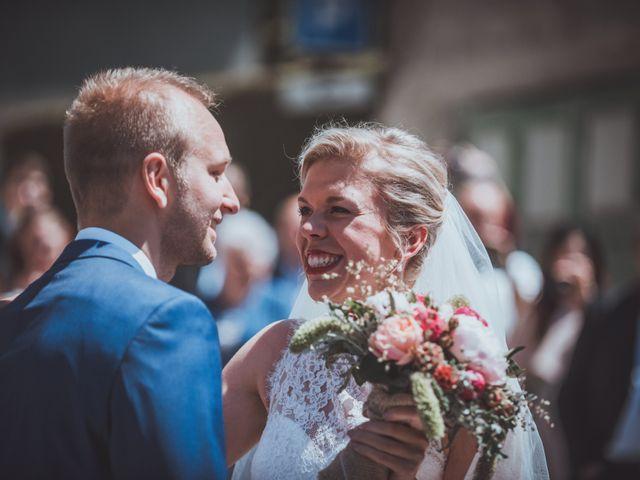 Le mariage de Sylvain et Camille à Tour-en-Bessin, Calvados 18