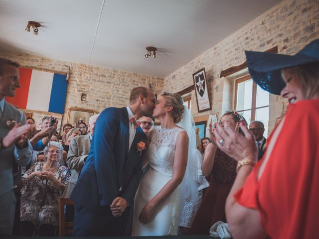 Le mariage de Sylvain et Camille à Tour-en-Bessin, Calvados 19