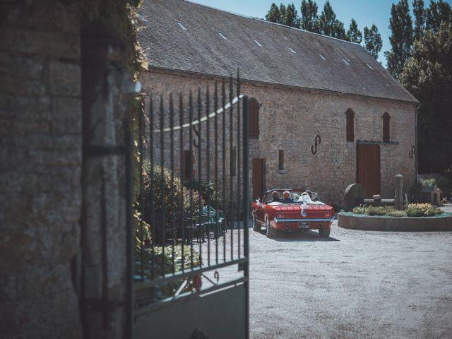 Le mariage de Sylvain et Camille à Tour-en-Bessin, Calvados 43