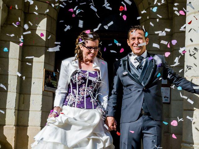 Le mariage de Christophe et Tiphaine à Saint-Genest-d'Ambière, Vienne 36