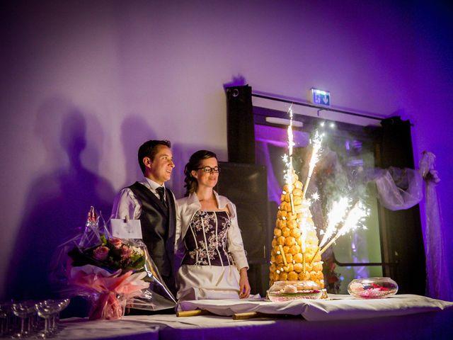 Le mariage de Christophe et Tiphaine à Saint-Genest-d'Ambière, Vienne 72