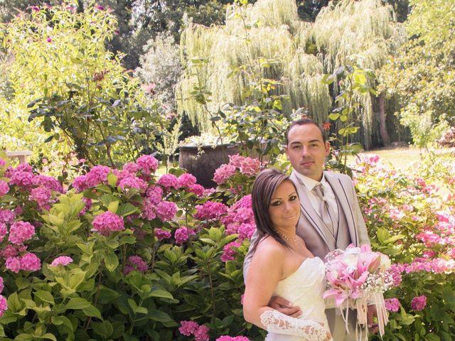 Le mariage de François et Laetitia à Mouton, Charente 10
