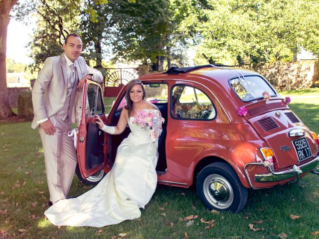 Le mariage de François et Laetitia à Mouton, Charente 12