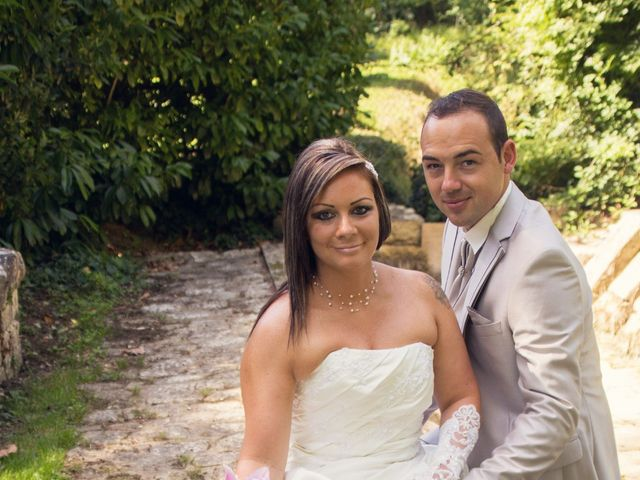 Le mariage de François et Laetitia à Mouton, Charente 14