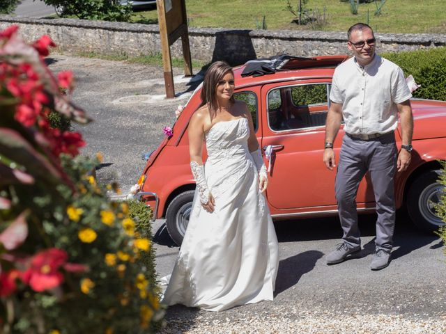 Le mariage de François et Laetitia à Mouton, Charente 16