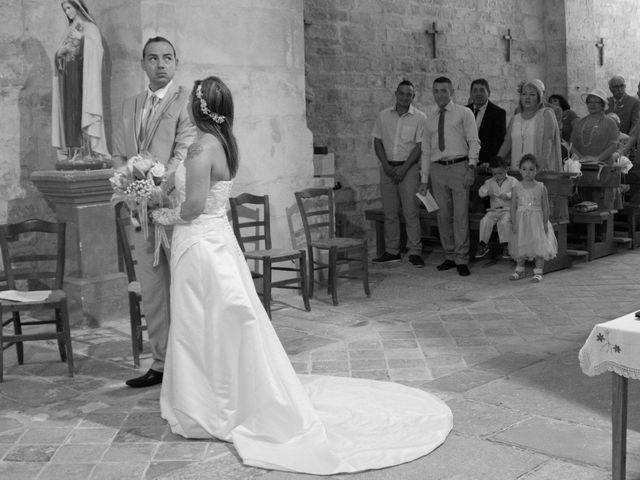 Le mariage de François et Laetitia à Mouton, Charente 21