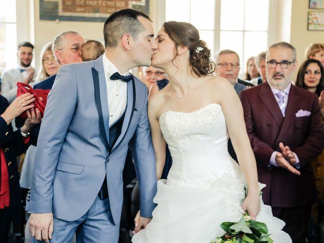 Le mariage de Alexandre et Lauriane à Brueil-en-Vexin, Yvelines 77