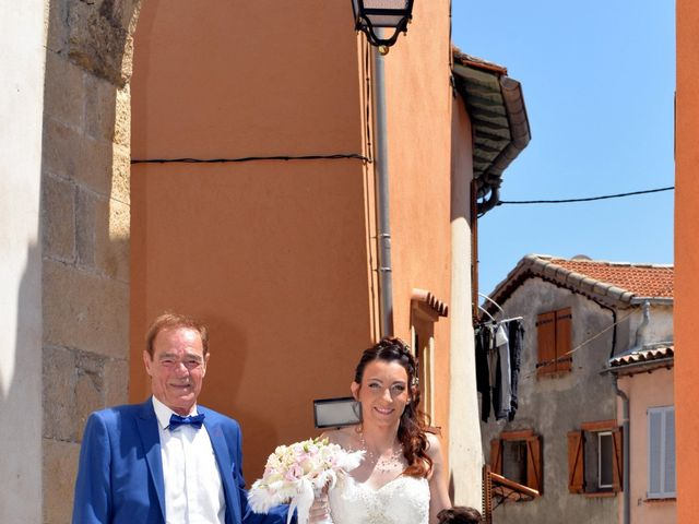Le mariage de Frédéric et Séverine à Bonson, Alpes-Maritimes 8