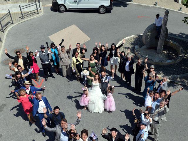 Le mariage de Frédéric et Séverine à Bonson, Alpes-Maritimes 10