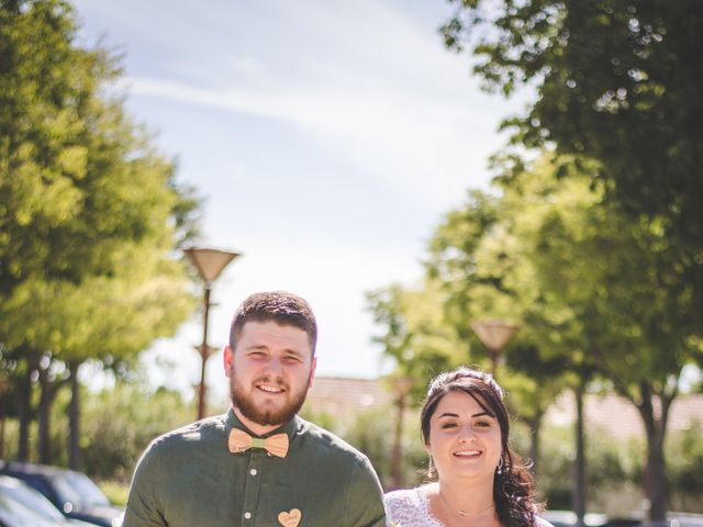 Le mariage de Florent et Célia à Rodilhan, Gard 12