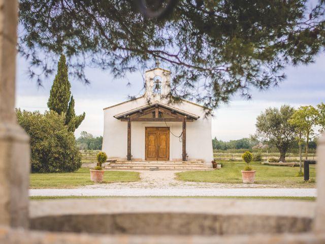 Le mariage de Florent et Célia à Rodilhan, Gard 17