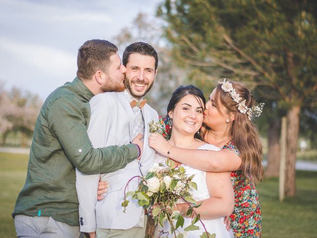 Le mariage de Florent et Célia à Rodilhan, Gard 26
