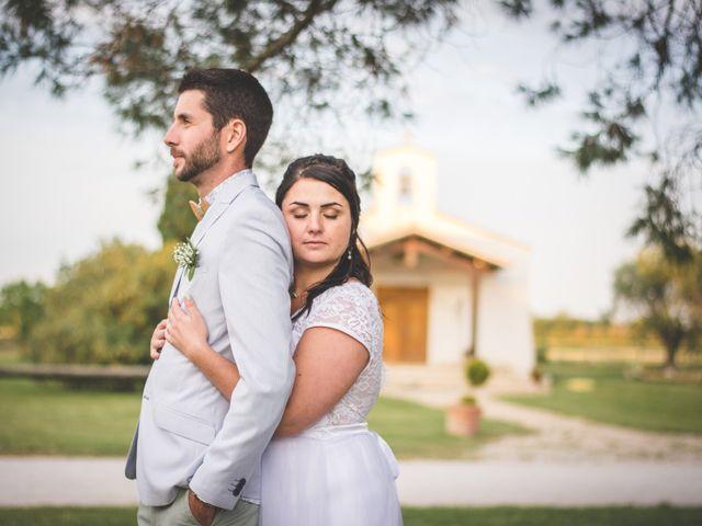Le mariage de Florent et Célia à Rodilhan, Gard 35