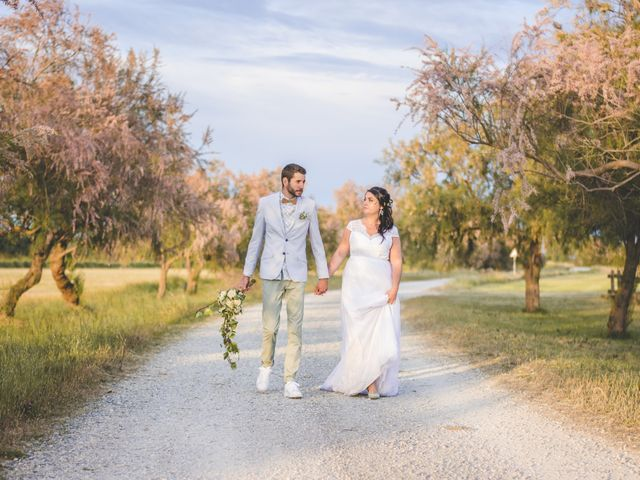 Le mariage de Florent et Célia à Rodilhan, Gard 37