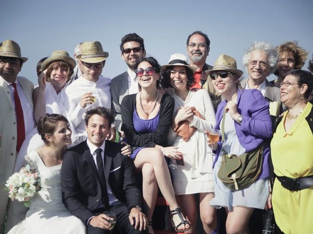 Le mariage de Vincent et Edith à Étretat, Seine-Maritime 24