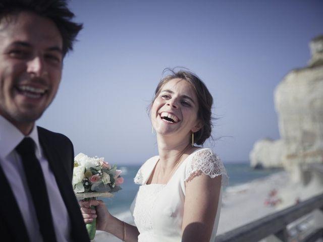 Le mariage de Vincent et Edith à Étretat, Seine-Maritime 2