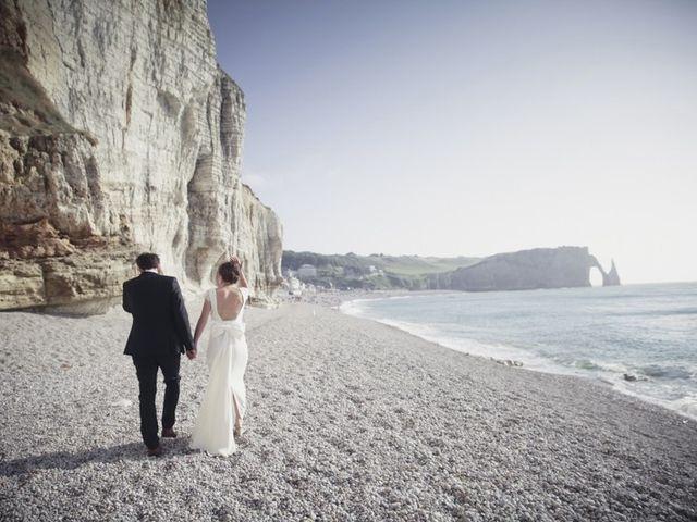 Le mariage de Vincent et Edith à Étretat, Seine-Maritime 31