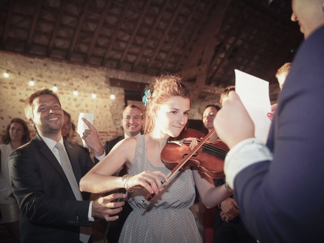Le mariage de Vincent et Edith à Étretat, Seine-Maritime 37