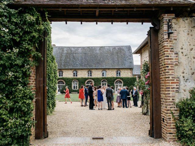 Le mariage de Christophe et Constance à La Ferté-Vidame, Eure-et-Loir 35
