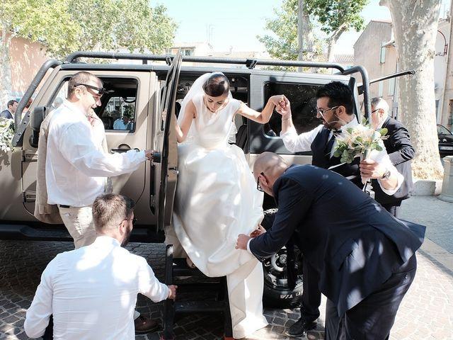 Le mariage de Stephan et Nathalie à Hyères, Var 92