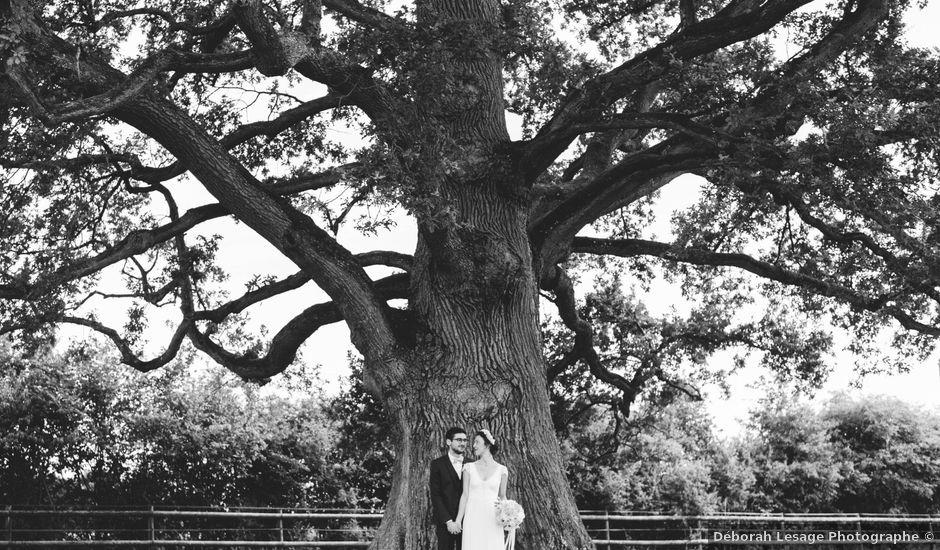 Le mariage de Christophe et Constance à La Ferté-Vidame, Eure-et-Loir