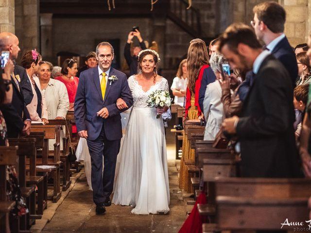 Le mariage de Julien et Anne à Eymoutiers, Haute-Vienne 9