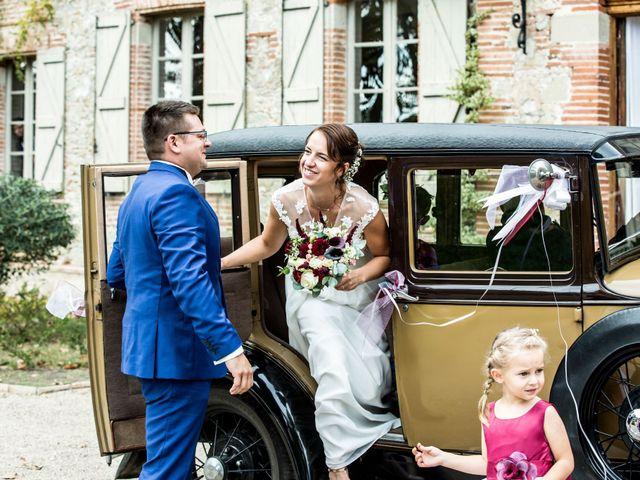 Le mariage de David et Florine à Bonrepos-Riquet, Haute-Garonne 31