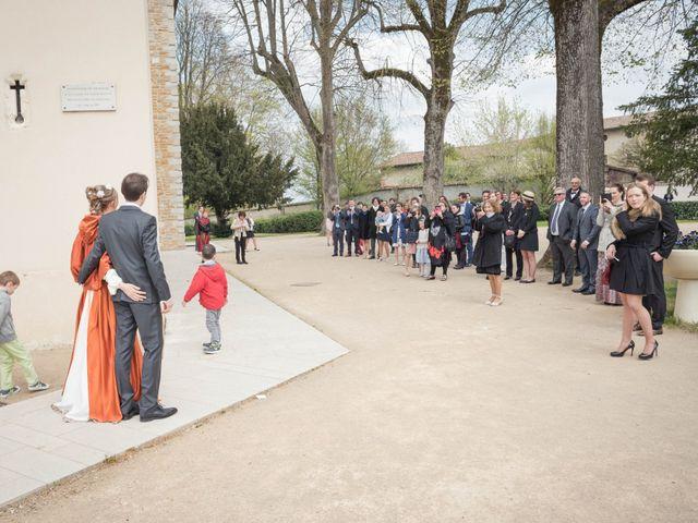 Le mariage de Gaëtan et Amandine à Chavanoz, Isère 5