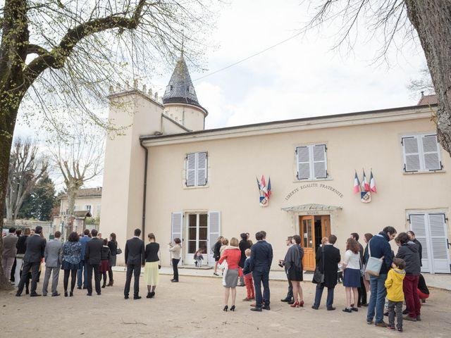 Le mariage de Gaëtan et Amandine à Chavanoz, Isère 6