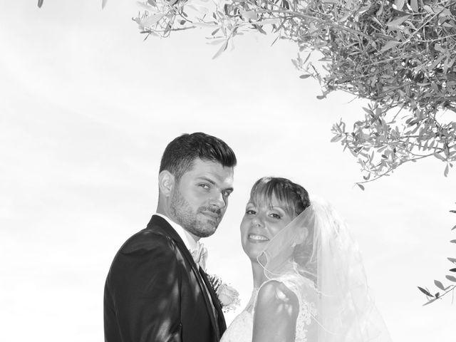 Le mariage de Christophe et Aurelie à Vézénobres, Gard 11