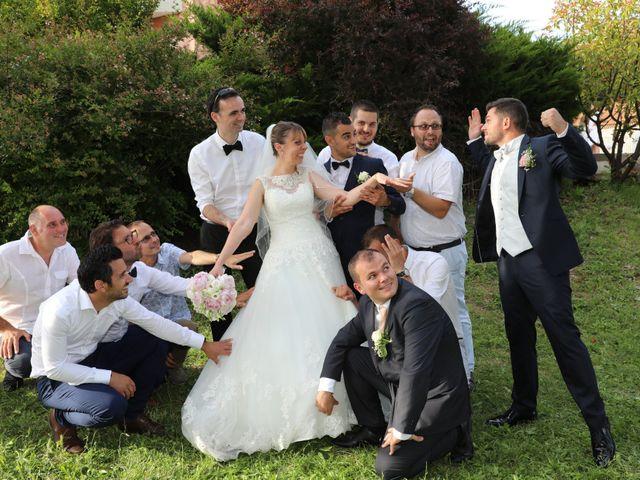 Le mariage de Christophe et Aurelie à Vézénobres, Gard 22