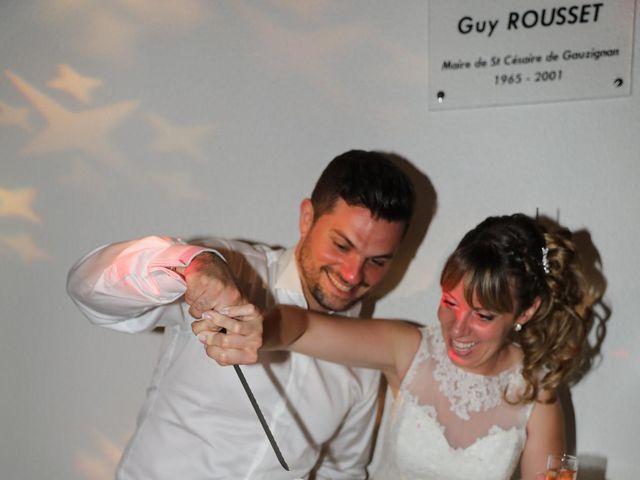 Le mariage de Christophe et Aurelie à Vézénobres, Gard 29