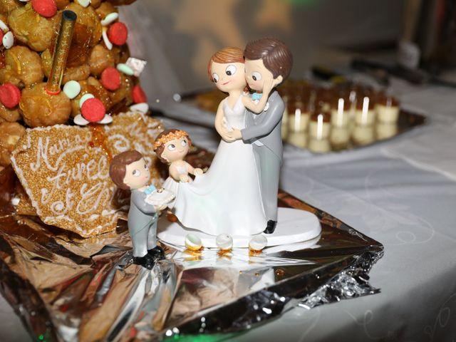 Le mariage de Christophe et Aurelie à Vézénobres, Gard 30