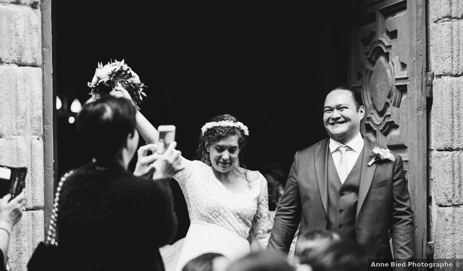 Le mariage de Julien et Anne à Eymoutiers, Haute-Vienne