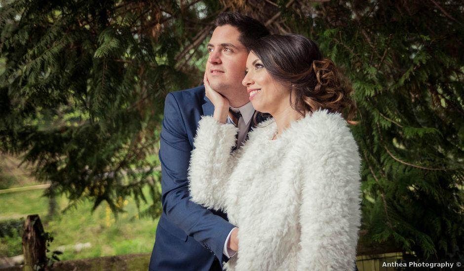 Le mariage de Julien et Wessalie à Saint-Martin-la-Plaine, Loire