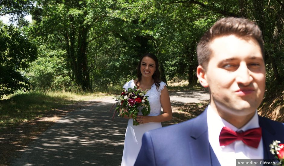 Le mariage de Mathieu et Julia à Saint-Benoît-de-Carmaux, Tarn