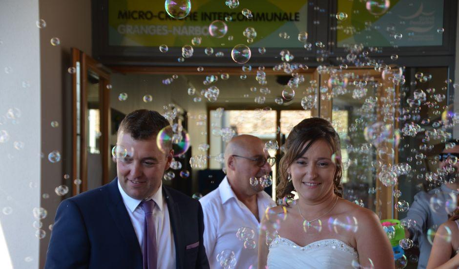 Le mariage de Julien et Adeline à Granges-Narboz, Doubs