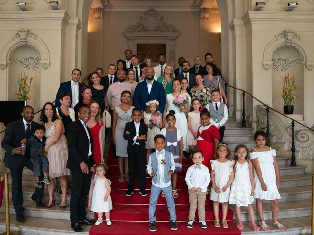 Le mariage de Willy et Véronique à Asnières sur Seine, Hauts-de-Seine 90