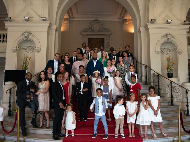 Le mariage de Willy et Véronique à Asnières sur Seine, Hauts-de-Seine 92