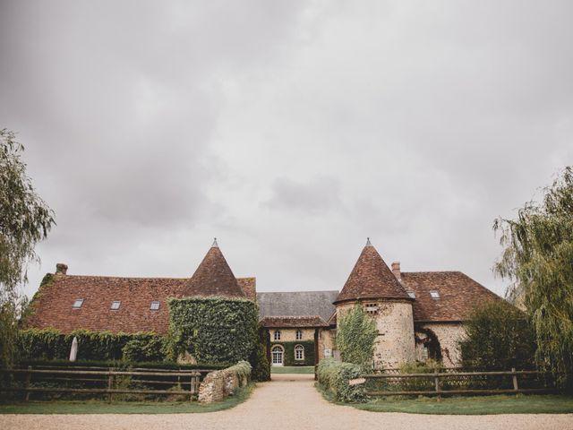 Le mariage de Godefroy et Sophie à La Chapelle-Fortin, Eure-et-Loir 1