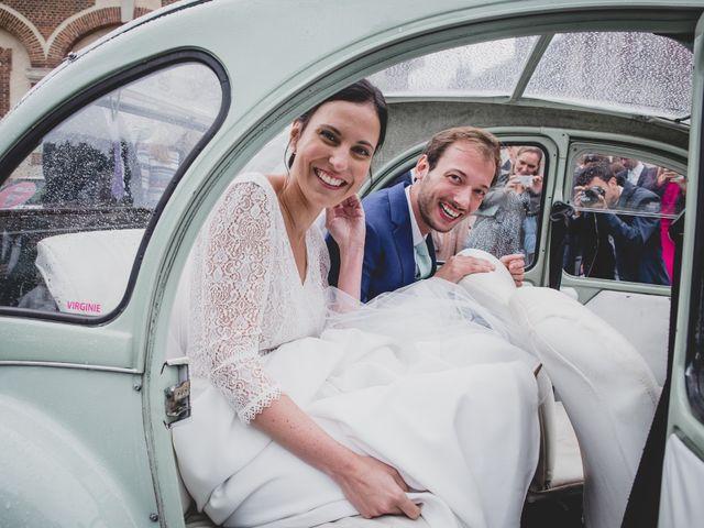 Le mariage de Godefroy et Sophie à La Chapelle-Fortin, Eure-et-Loir 45