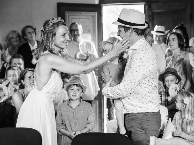 Le mariage de Marc et Bénédicte à Vaour, Tarn 10