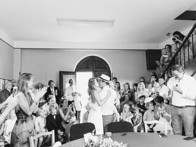 Le mariage de Marc et Bénédicte à Vaour, Tarn 15