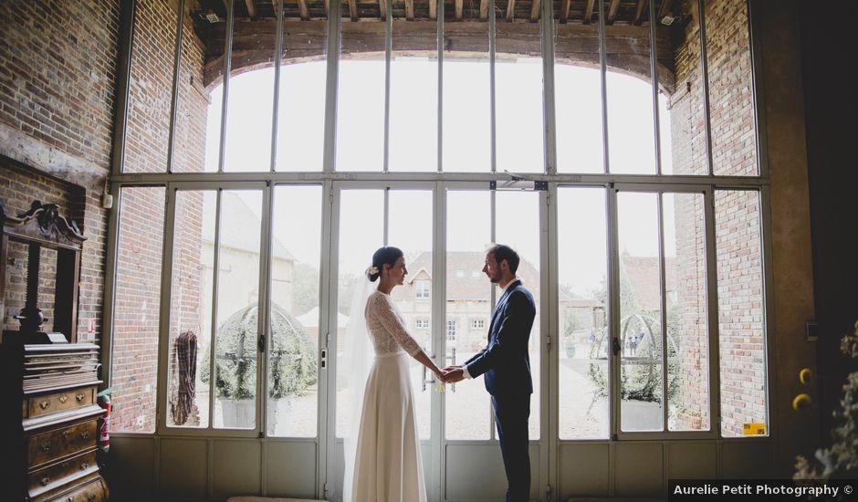Le mariage de Godefroy et Sophie à La Chapelle-Fortin, Eure-et-Loir