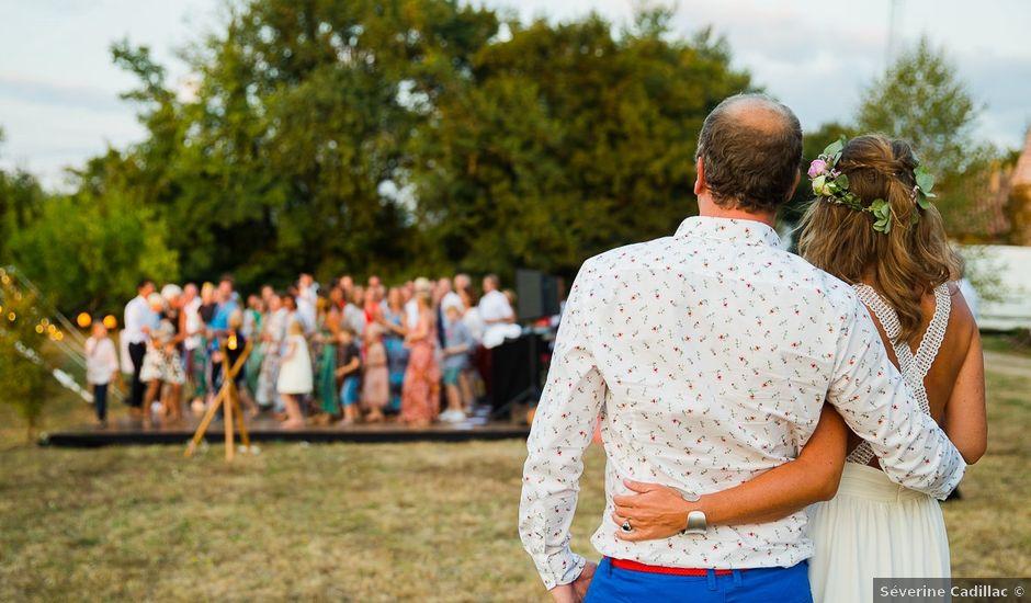 Le mariage de Marc et Bénédicte à Vaour, Tarn