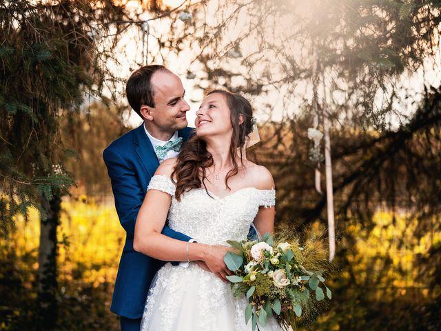 Le mariage de Etienne et Melody à Saint-Ouen-de-Thouberville, Eure 2