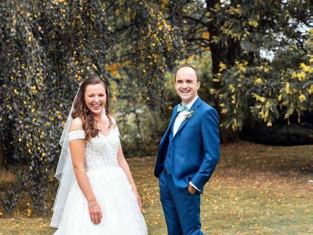 Le mariage de Etienne et Melody à Saint-Ouen-de-Thouberville, Eure 34