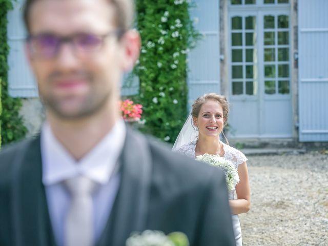 Mariage Béatrice& Thibaut de Domaine du Bois # Domaine Du Bois Saint Laurent De La Prée